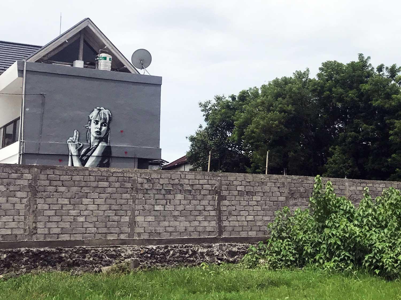 Mural Canggu Bali - Travel Blog - Screw Them All