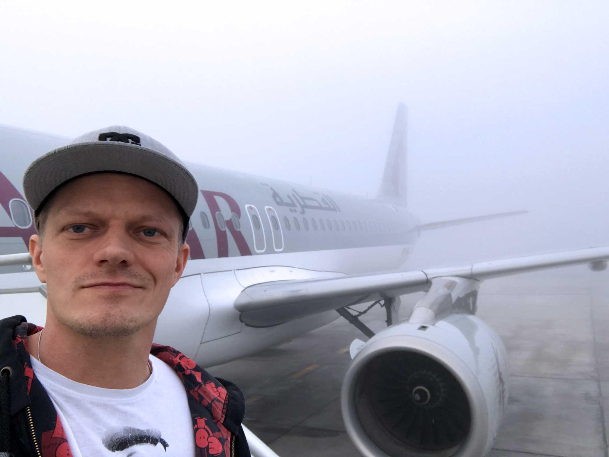 Qatar Airways QR308 Helsinki to Doha - Travel - Blog - Screw Them All