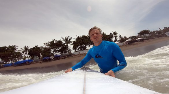 Surfing Berawa Beach Bali, Indonesia - Screw Them All - Blog