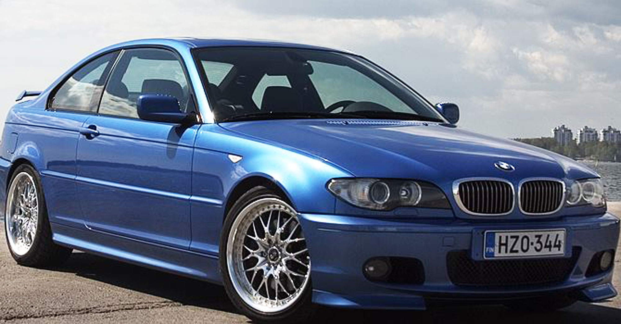 Bmw E46 Club Sport - Work Rezax Wheels - Screw Them All - Blog