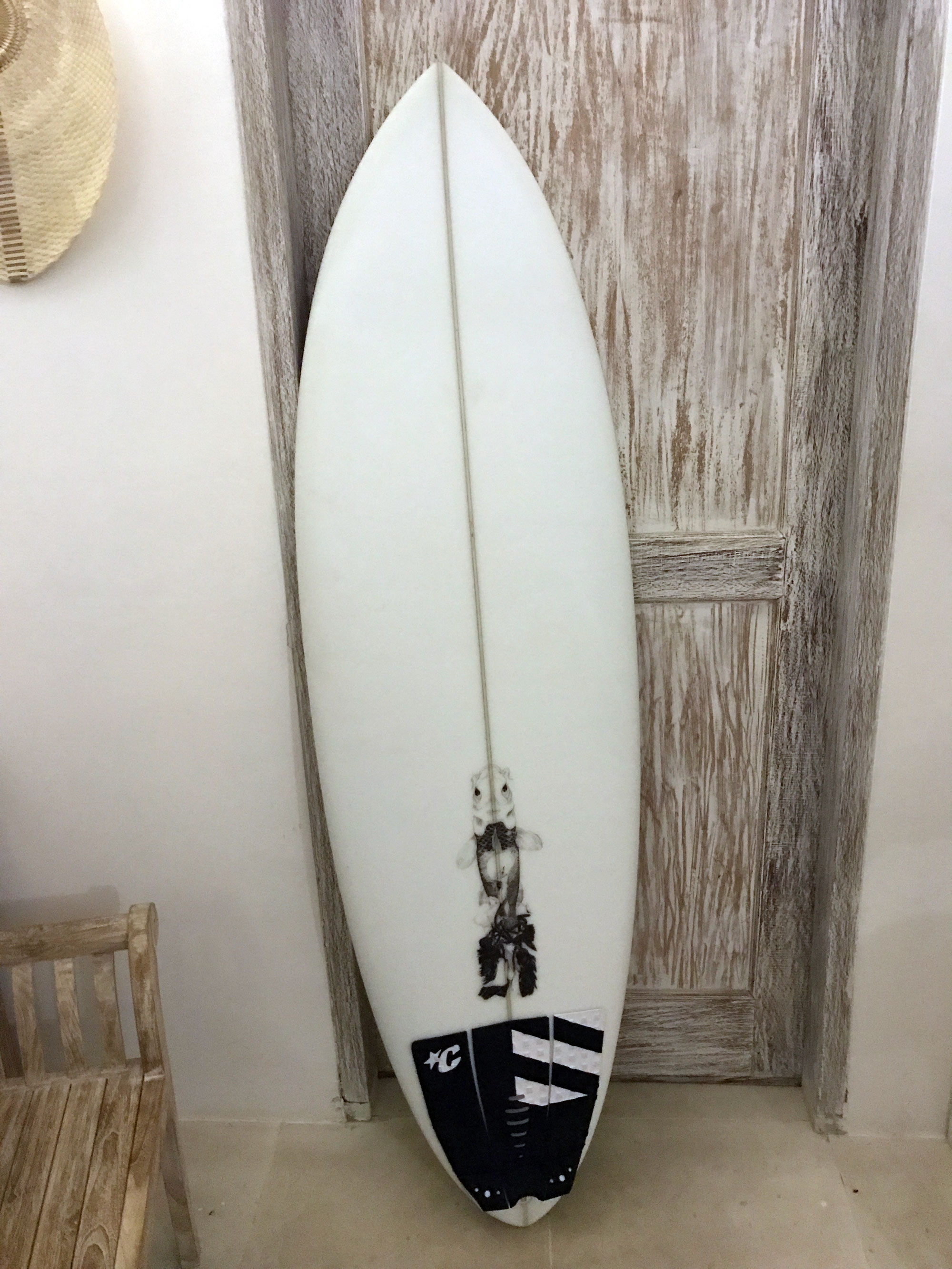 The Big Fish - Custom surfboard by Pinguino Surfboards - Screw Them All - Blog
