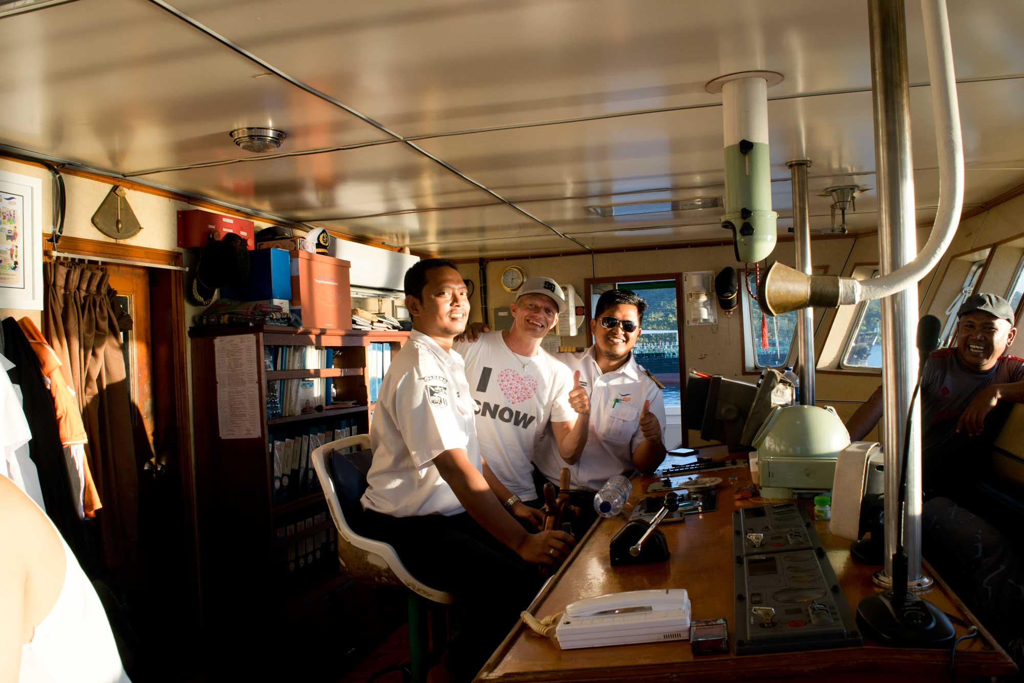 Ambu Ambu Captain and Crew - Padang to Siberut, Mentawai - Indonesia - Screw Them All - Blog