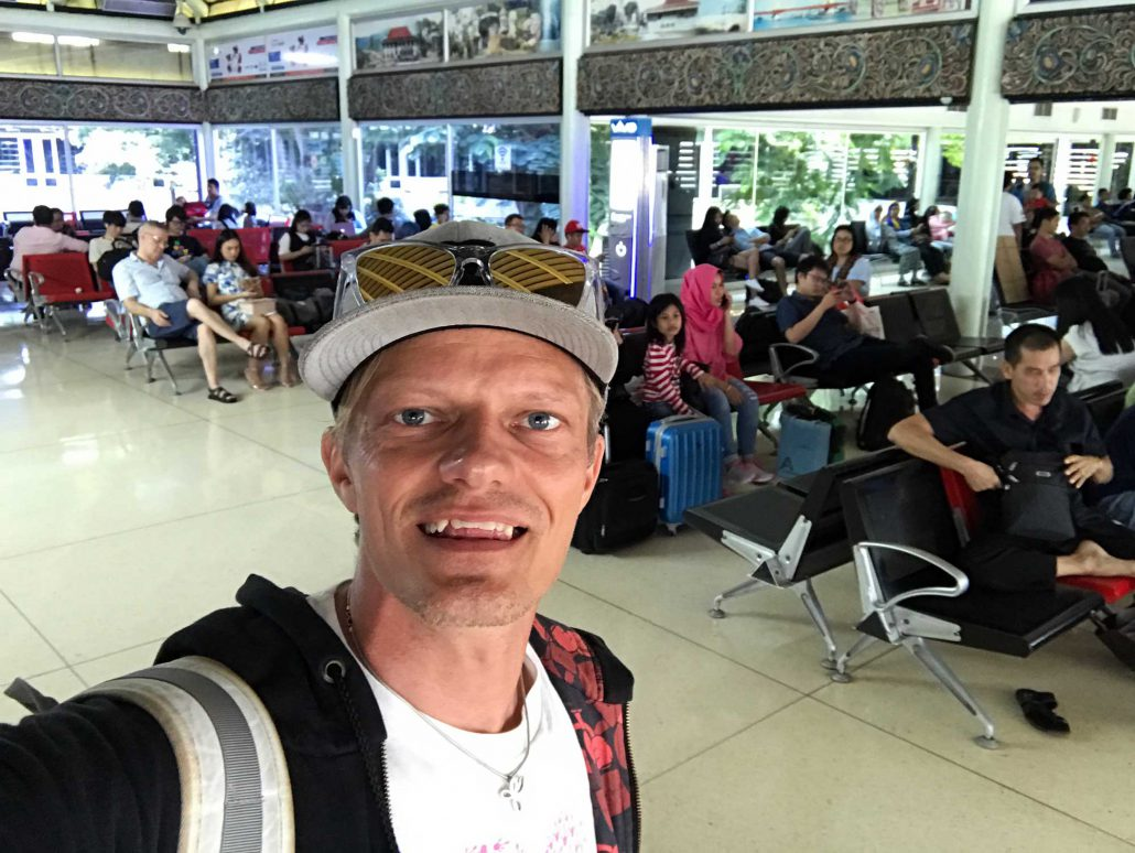Waiting for departure in Jakarta, Indonesia - Screw Them All - Blog
