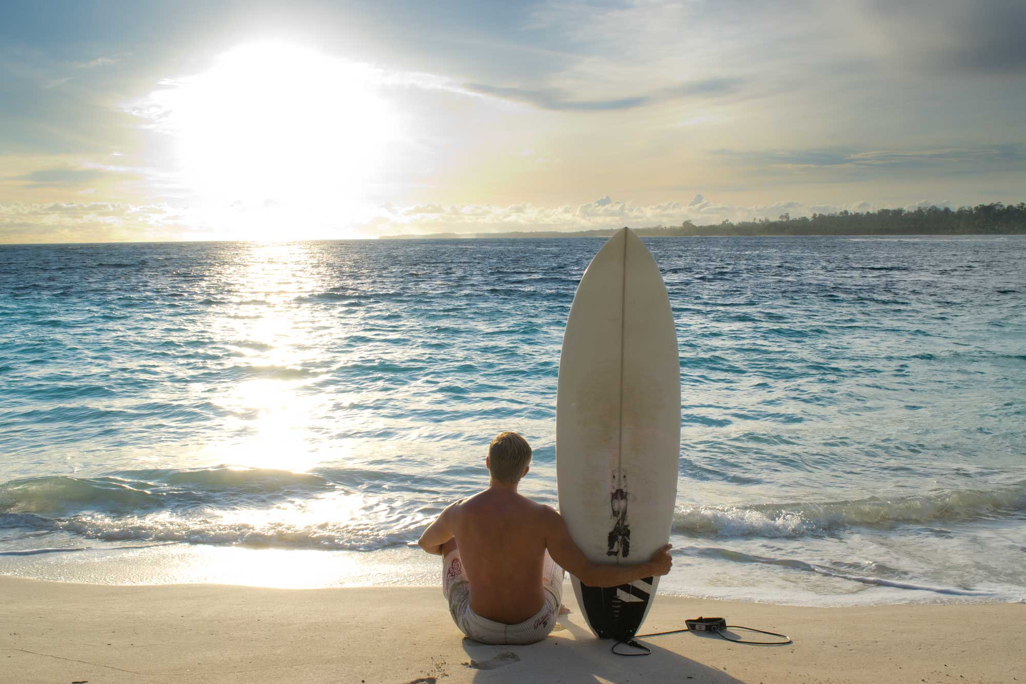 Sunset at Wavepark Mentawai, Indonesia - Screw Them All - Blog