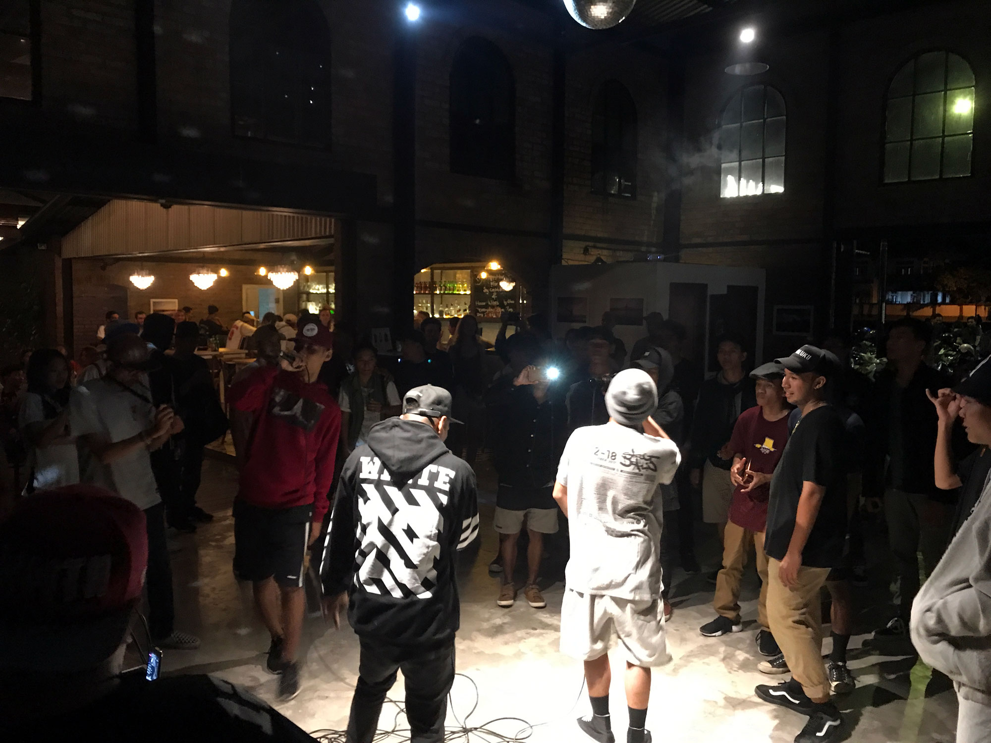 Konkrete freestyle rap battle event - Canggu, Bali