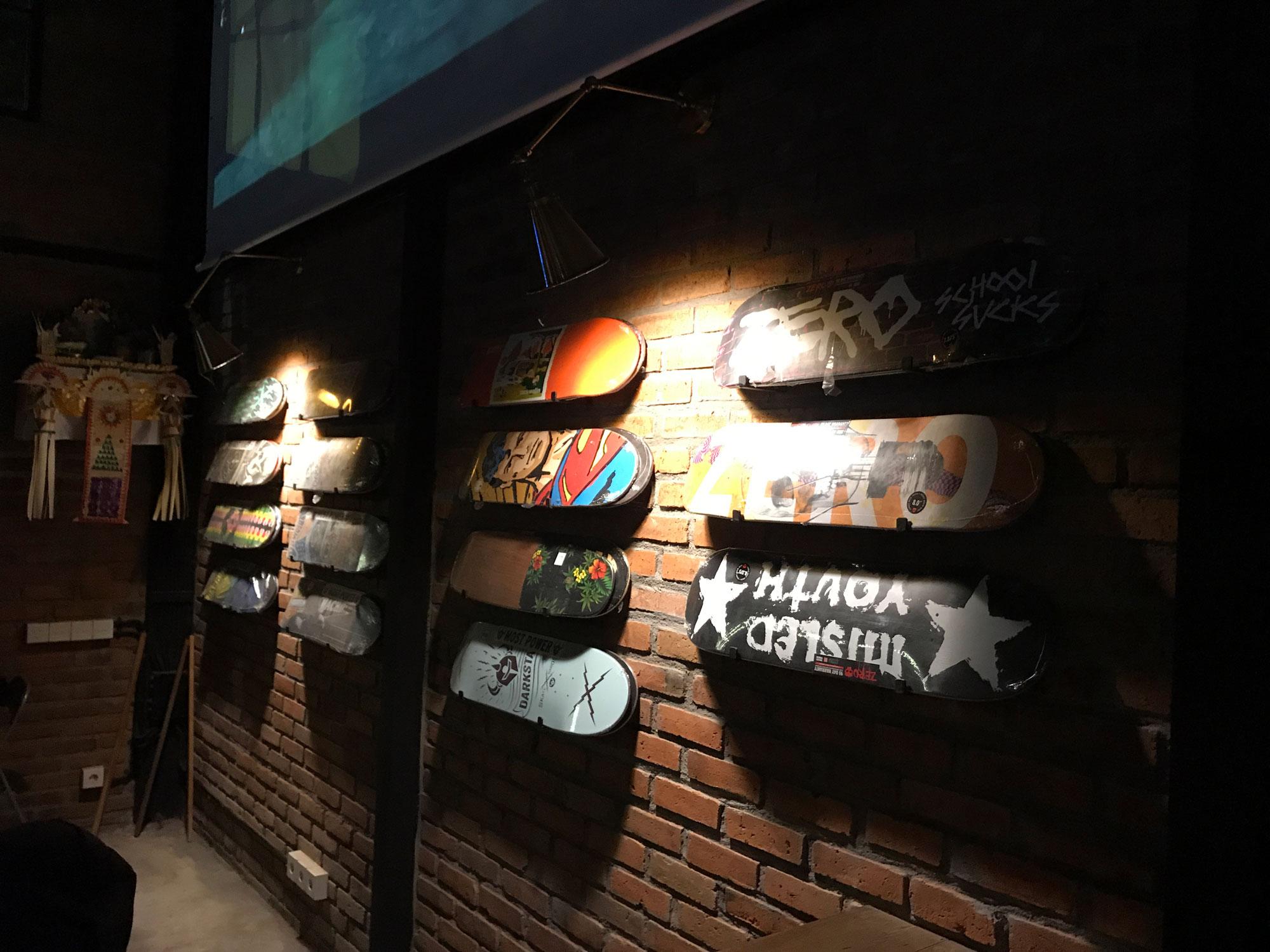 Konkrete skate shop - Canggu, Bali
