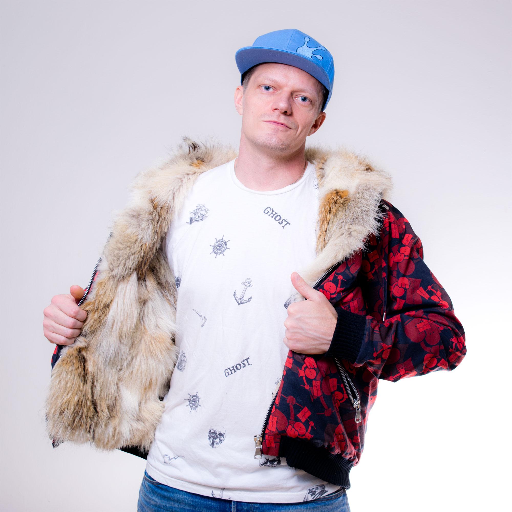 The Hoodie - Number 2 - Custom fur lined hoodie - front